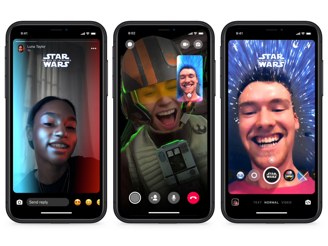 Star Wars AR Effects